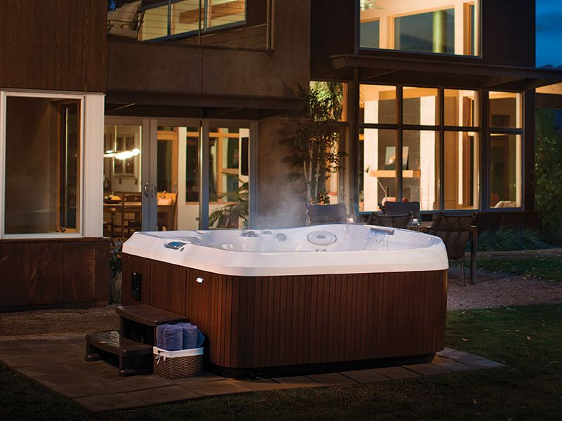 Jacuzzi Hot Tub Evening Victoria Langford