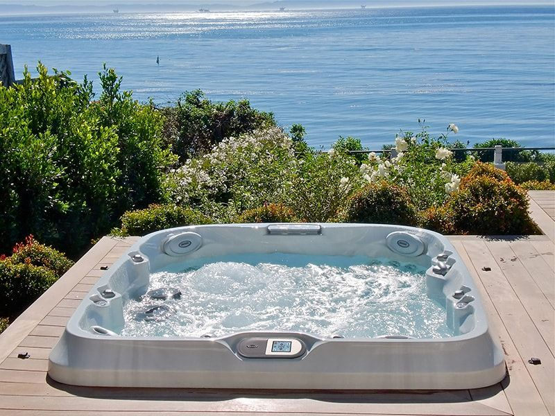Jacuzzi Hot Tub Installation Water Victoria Langford