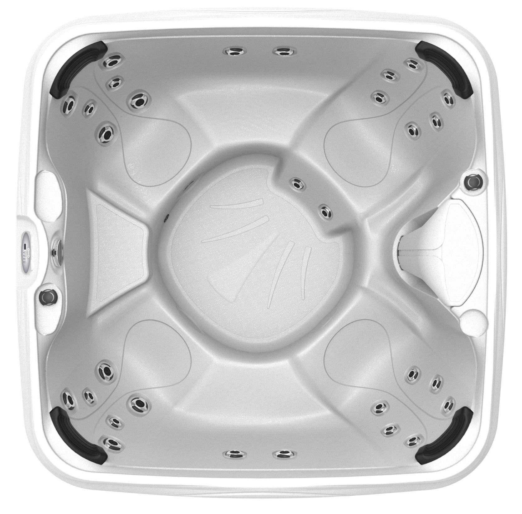 Mood Rectangle Open Seating Hot Tub