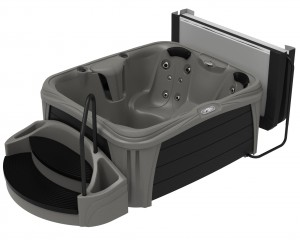 Jacuzzi Play Collection hot tub.